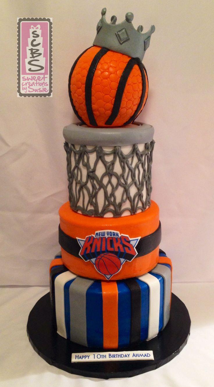 Ny Knicks Inspired Birthday Cake Sweet Creations By