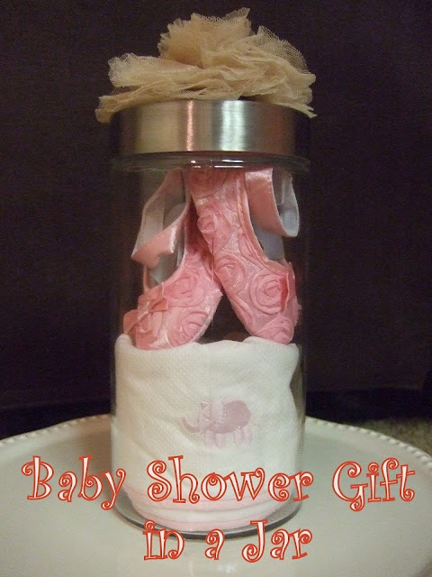 Baby Shower Gift in a Jar