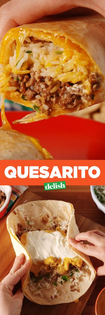 No More Deciding Between A Burrito And A Quesadilla. The Quesarito Lets You Have Both