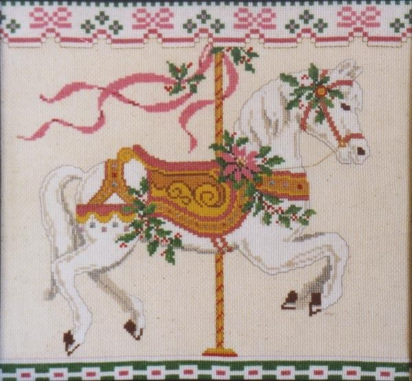 1000 Images About Carousel Cross Stitch On Pinterest
