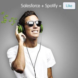 Salesforce + Spotify = Like!