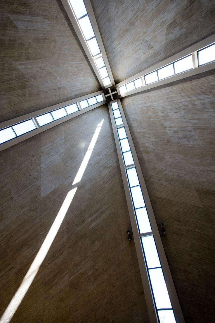 Kannelmäki Church, Helsinki, Finland by Marjatta and Martti Jaatinen