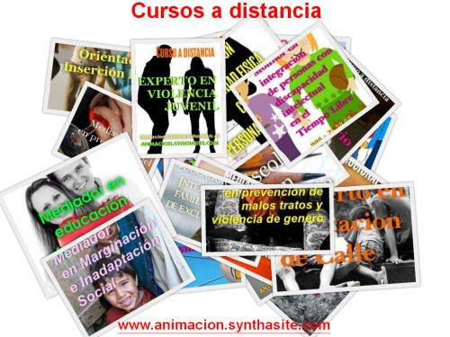Programa de formación a distancia en intervención social, acción social, educación, animación sociocultural, integración social