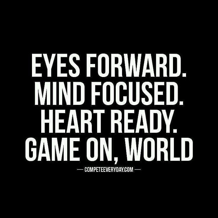 It's on   #goodvibes #motivation #focus