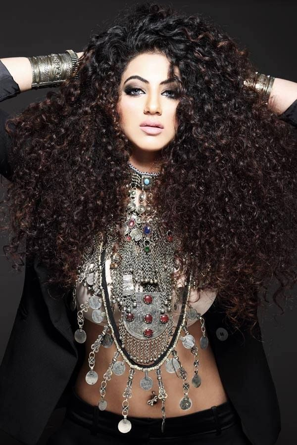 annie khalid's hair is flawless!