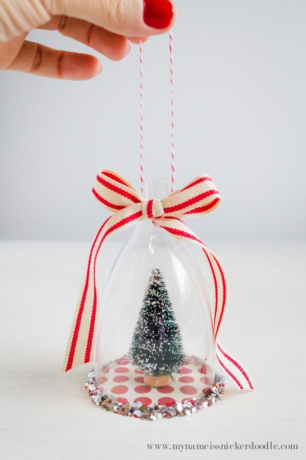 My Name Is Snickerdoodle: Vintage Inspired Christmas Ornament Craft