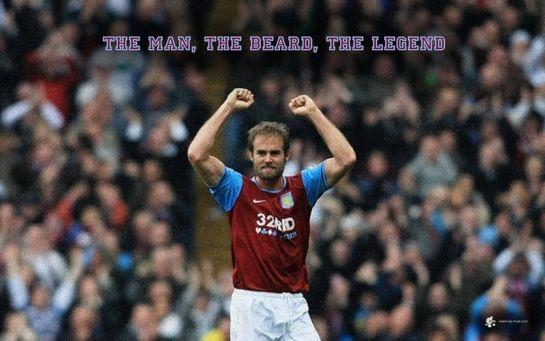 Wallpaper for former Aston Villa player Olof Mellberg