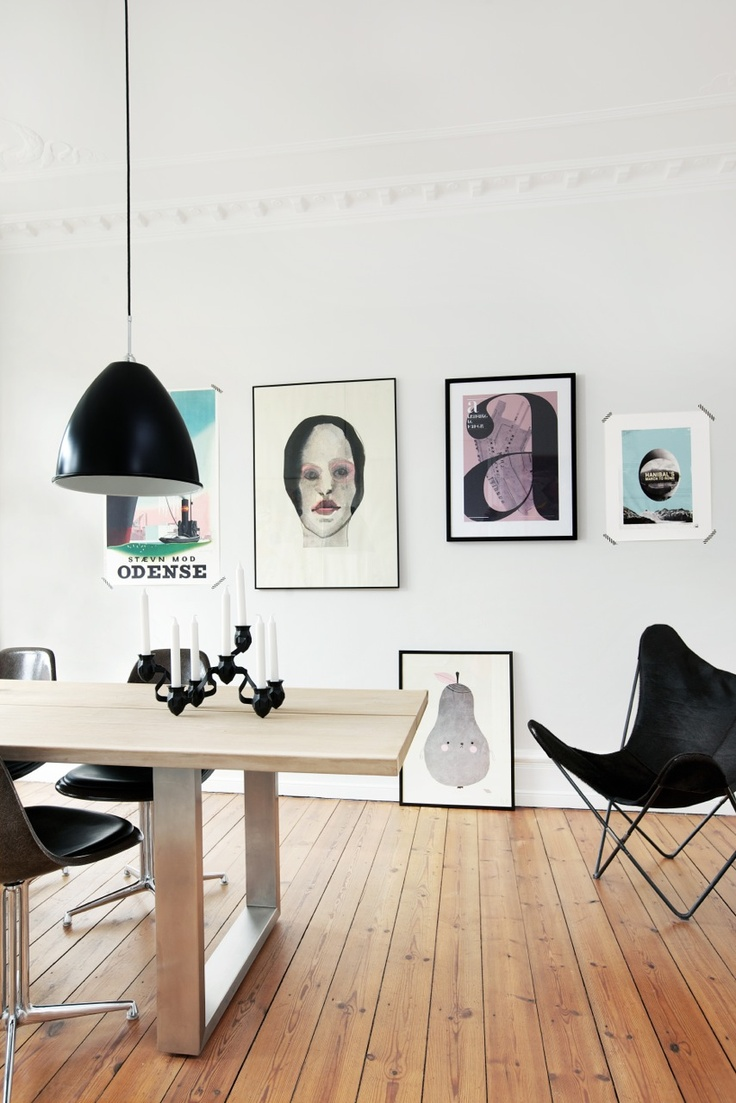 Poster design w graff - Sled Base Dining Table With Black Chairs And Pendant Styling Rikke Graff Juel Ellens Album Photo Frederikke Heiberg