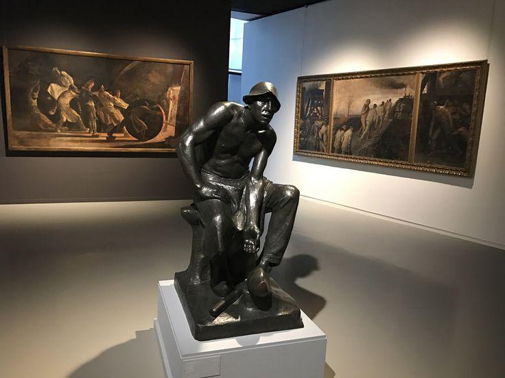 IMG_8403 Зал главного бельгийского скульптора и прекрасного художника Constantin Meunier.