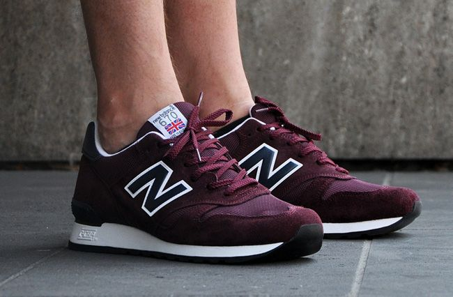New Balance 670 - Burgundy & Navy | KicksOnFire.com