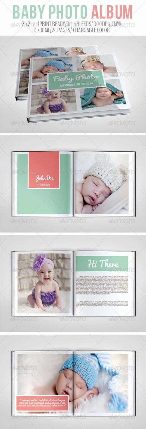 GraphicRiver Baby Photo Album