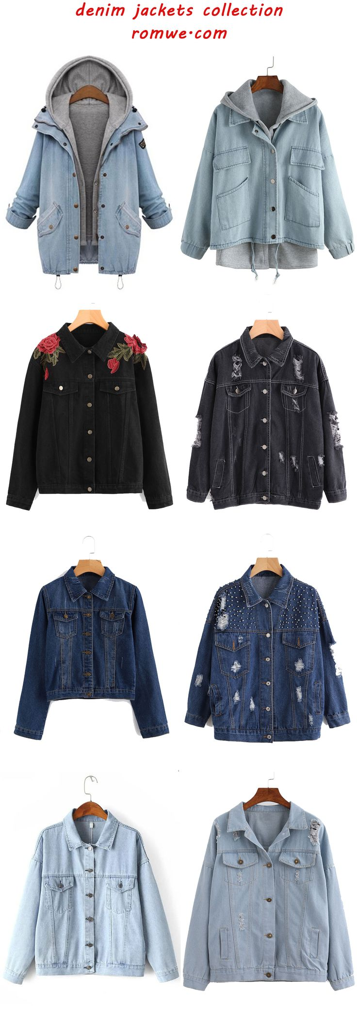 fall denim jackets collection