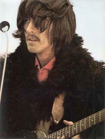 George Harrison during Rooftop Concert