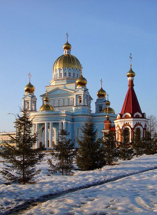 Cathedral F. Ushakova, Saransk, Russia Copyright: Alexander Karasev