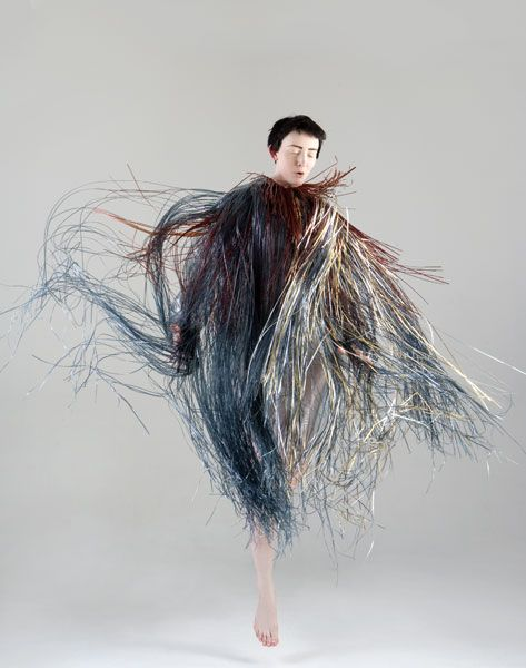avant garde fashion is totally expressing all these fabulous energies!     fringe / Jane Bowler