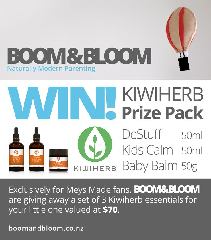 Enter to win: KIWIHERB Prize Pack | http://www.dango.co.nz/s.php?u=eASyBoTK2013