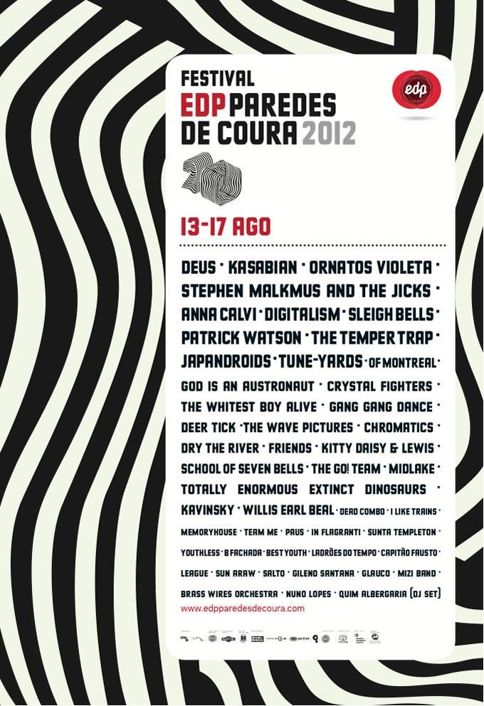 Paredes de Coura, 15-16/08/2012