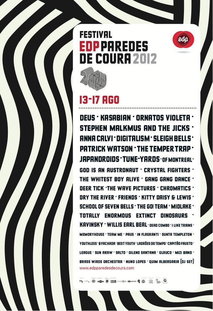 Paredes de Coura, 15-16/08/2012