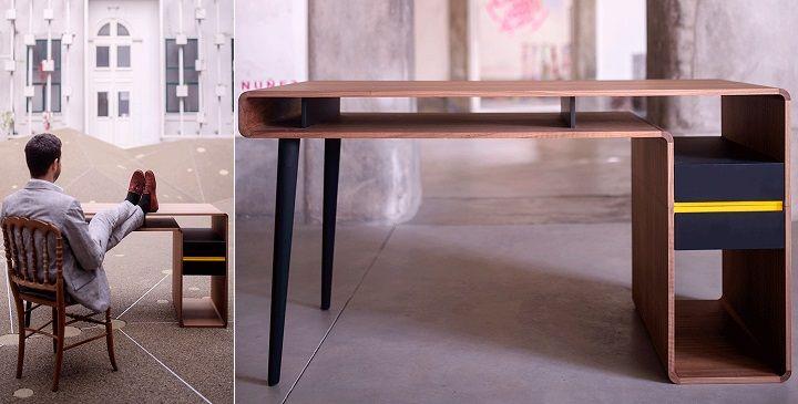 """Around.U on Revista Muebles """"Uno de los muebles más indispensables en las viviendas de hoy en día son los escritorios..."""""""