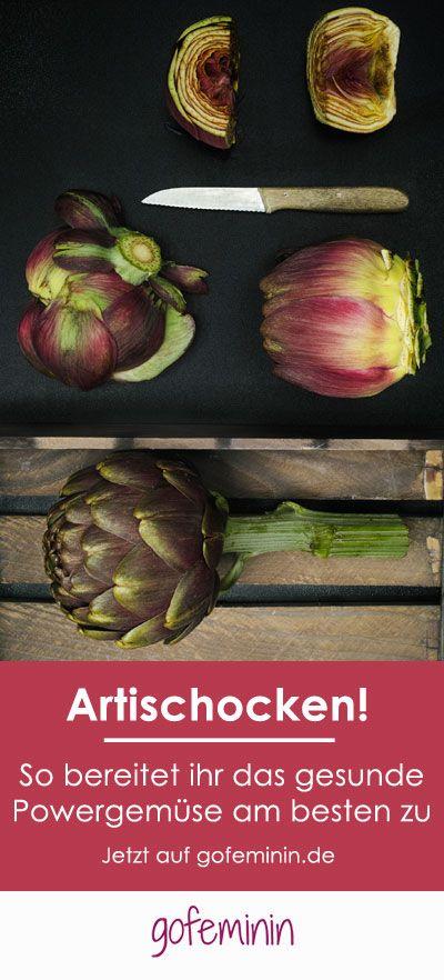 Artischocken rocken! Ob kochen oder braten - so easy könnt ihr das Power-Gemüse…