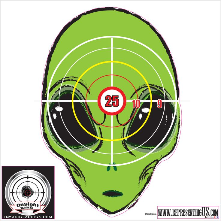 It is a photo of Terrible Zombie Target Printable