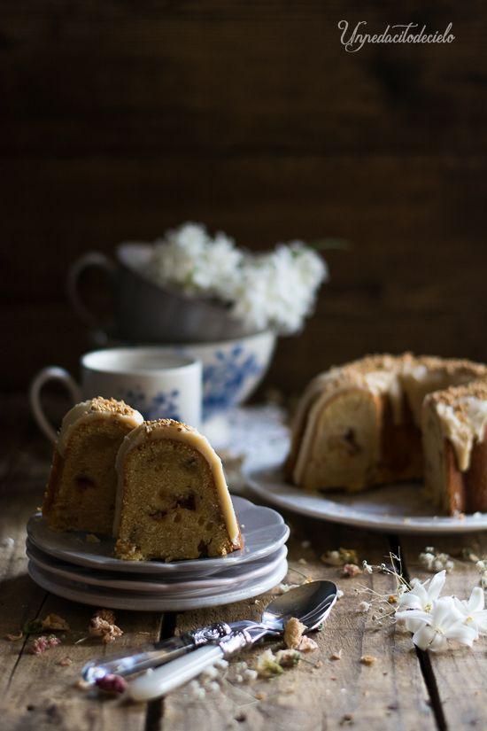 Creem Cheese & Butterscotch Bundt Cake Que delicia más deliciosa! Tengo a mis hijas y a mi marido dando palmas con ...