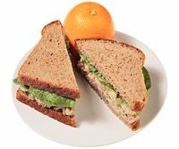 Balsamic tuna salad sandwich.: Food Lunches, 20 Lunches, Sandwiches Recipes, Lunches Ideas, Tuna Salad Sandwiches, Fast Food, Healthy Lunches, Includ Fast, 400 Calories