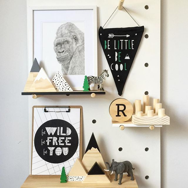 A little #pegboard action for your Sunday evening featuring our spotty mountain set in monochrome and our little peg play set in natural, all available now, link in bio  #woodentoys #timbertoys #childrensfashion #chikdrensroominspo #kidsroominspo #pegboard #kmart #kmartbargains #edutoys #shelfie #cottonkids #mountains #timbermountains #woodworking #kmartkids #homedecor #interiordesign