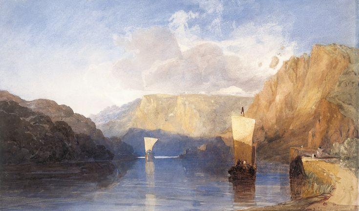 ca. 1830 Blasting St. Vincent's Rock, Clifton   graphite, watercolor and gum arabic