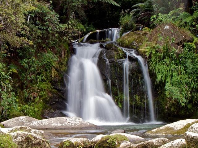 Waterfall, Ruahihi Power Station, Tauranga, NZ