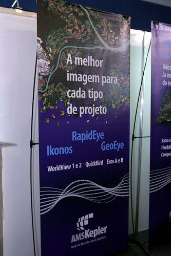 Banner estande AMS Kepler