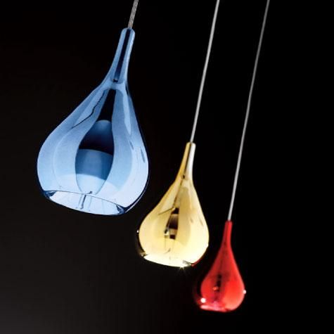 Gocce SP 1047/10 Sillux Pendant #sillux #lampade #italiane #kitchen #pendant