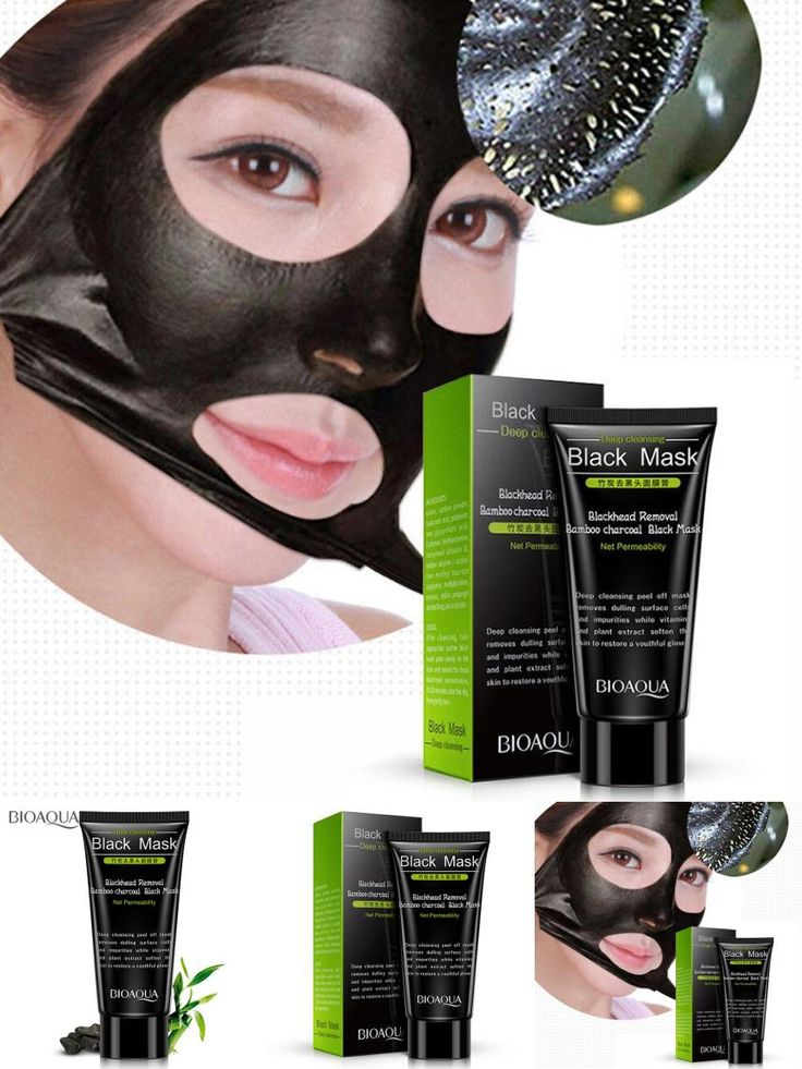 [Visit to Buy]  Mask Black Mud Deep Cleansing Pilaten Blackhead Remover Purifying Peel Face Mask Y501 #Advertisement