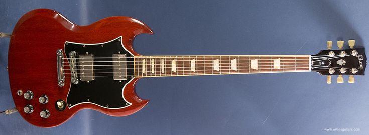 2007 Gibson SG Standard Cherry changed pickups