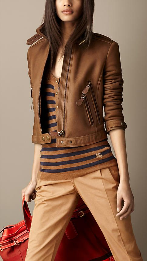 Burberry Brit Cropped Jacket