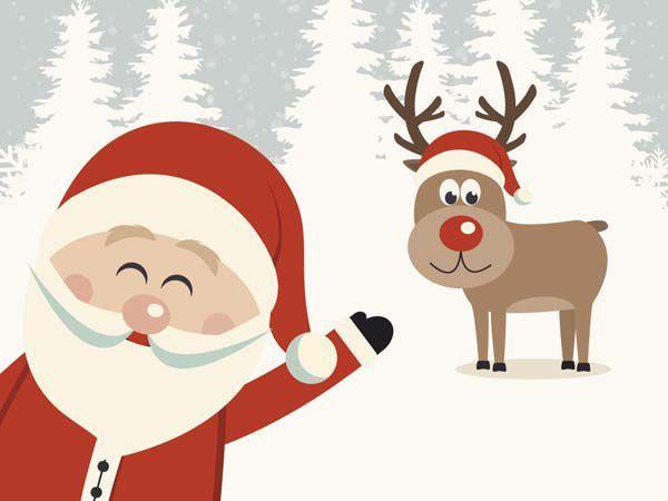 20 cartes de Noël à imprimer (10) | Cartes de noël à imprimer
