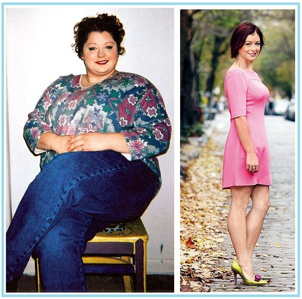 Talk about inspiring!  A great before and after weight loss journey tale.