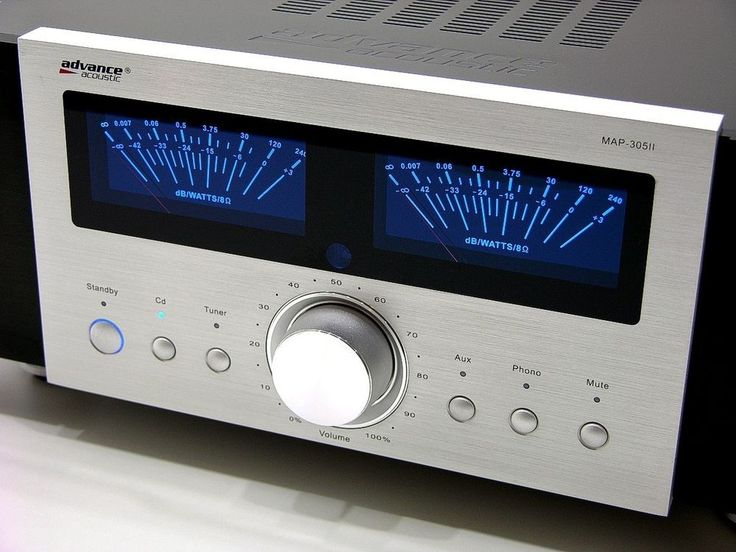 Advanced Acoustic MAP 305 II - audiophile stereo amplifier | Consumer Electronics, Vintage Electronics, Vintage Audio  Video | eBay!