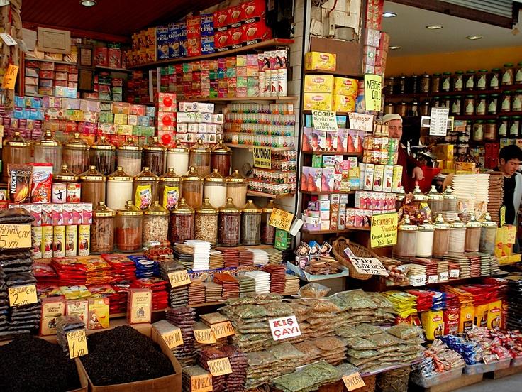 Market stall in Eskisehir, Turkey