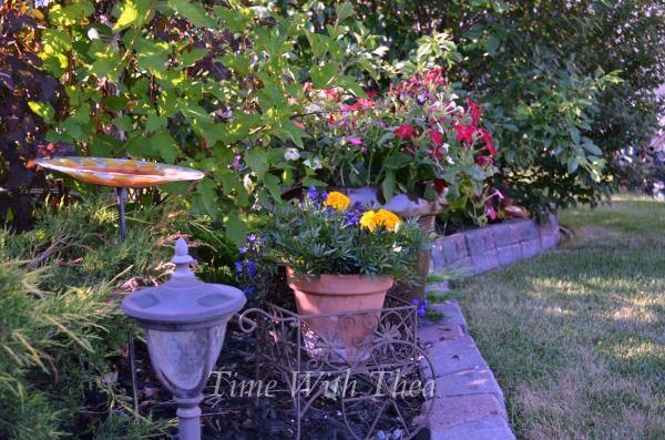 Garden Tour: Thea Morris from Time with Thea #bloggergardentour | featuring @timewiththea | Lealou