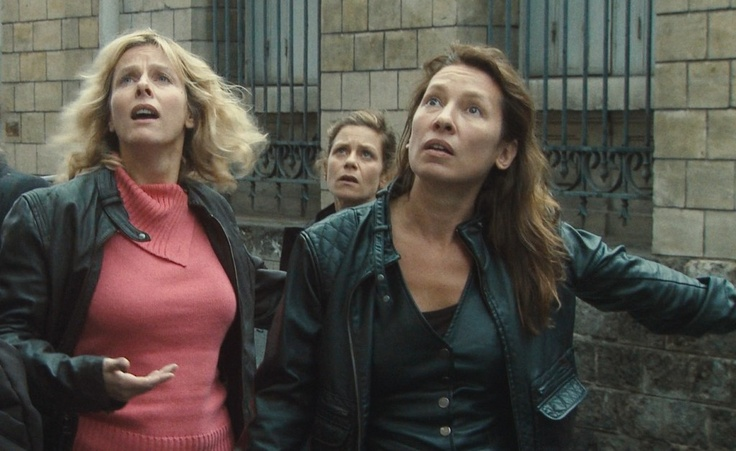 "Joeystarr, Marina Foïs, Maïwenn in ""Polisse,"" based on actual cases from the Paris Child Protection Unit."
