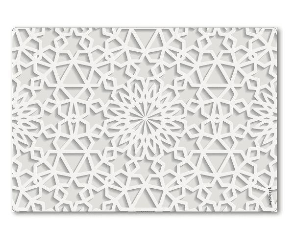 Wand Spritzschutz Maroccan, 41 X 59 Cm