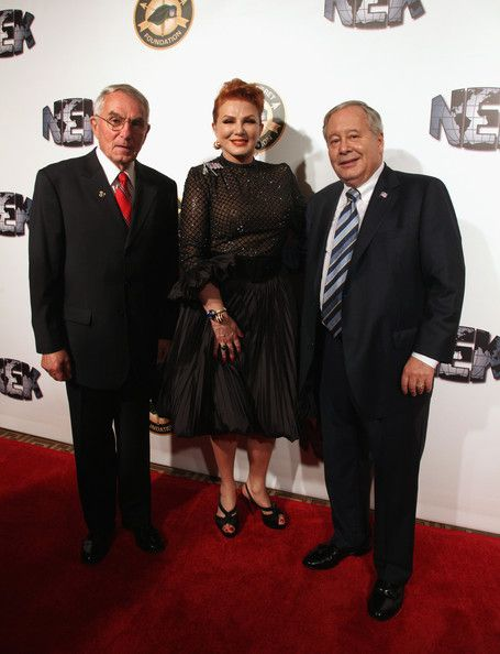 GBF's 2012 Honorees: MG (R) Sid Shachnow, Lifetime Achievement Award; Ms. Georgette Mosbacher, Honorary Steel Magnolias & Mr. Joe Grano Quiet Professional Award.