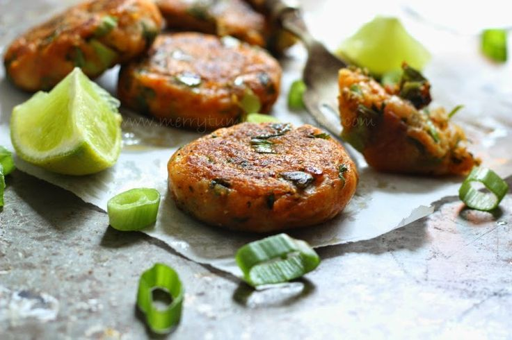 Merry Tummy: Spring Onion And Cheese Cakes, With Shloer Pink Fi...