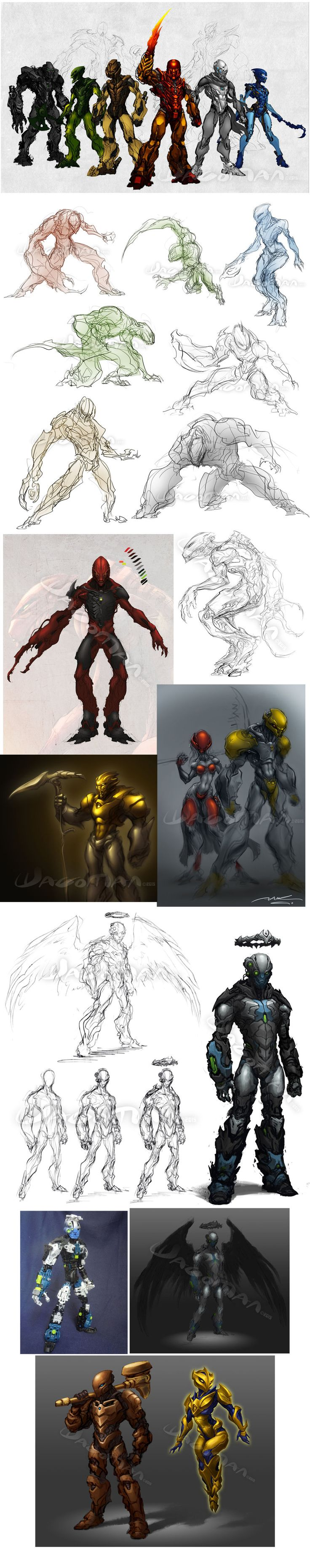WIPs + Dumps by The-HT-Wacom-Man on DeviantArt