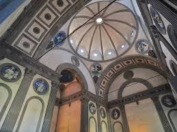Капелла Пацци при церкви Санта Кроче. Филиппо Брунеллески. 1441-1460-е.