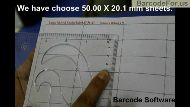 Design and print Barcode labels using DRPU Barcode Label Software: In this video you will learn how to make barcode labels through DRPU Software. Choose right A4 barcode sheets for your barcode labels. For demonstration purpose, we have taken HP Laser Printer for printing barcode stickers.