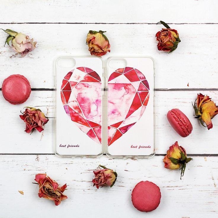#etui #case #gift #prezent #walentynki Idealny pomysł na prezent dla przyjaciółki. Etui na Walentynki