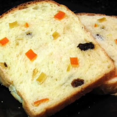 One Perfect Bite: Norwegian Christmas Bread (candied fruit; similar to panettone)