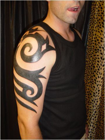 tribal shoulder tattoo | Katy Perry Buzz